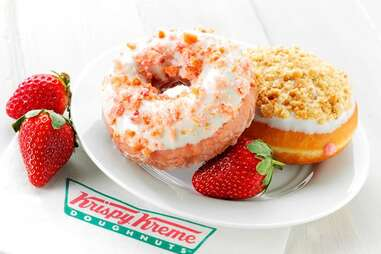 Krispy Kreme Fruit Stand Flavor donuts