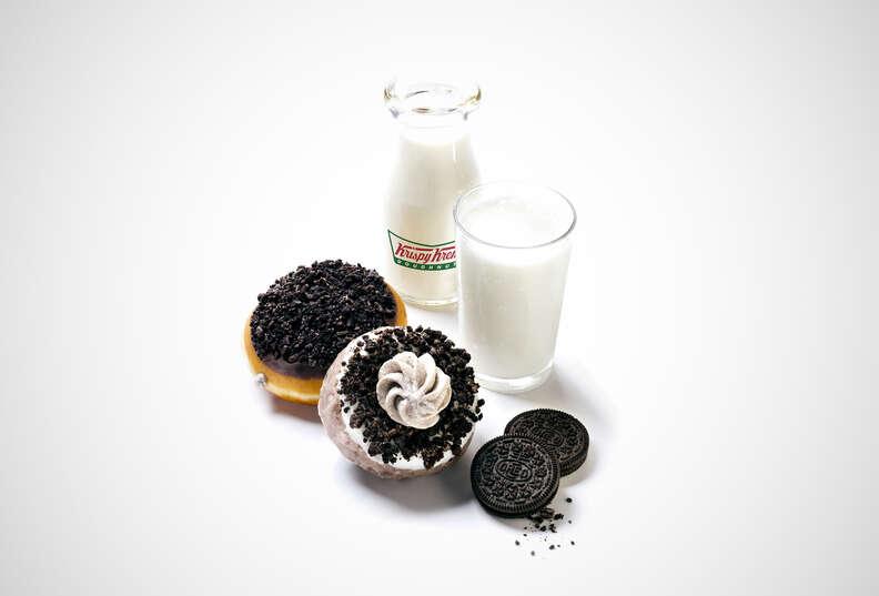 Krispy Kreme Cookies & Kreme donuts