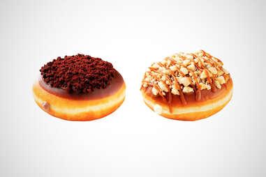 Krispy Kreme cheesecake donuts