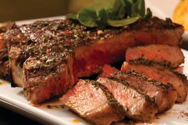 Steak at Bogie's Place