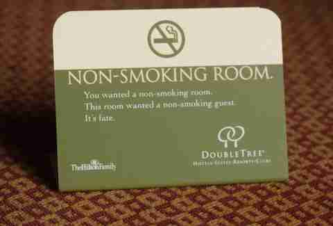 non-smoking room
