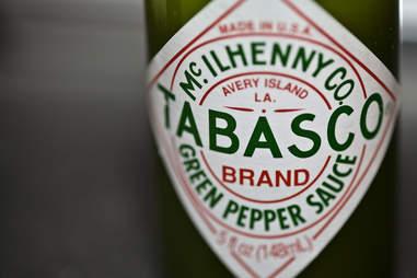 Tabasco bottle