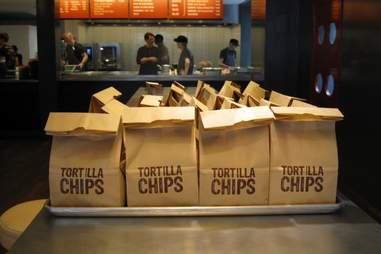 chips at Chipotle