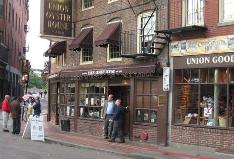 Union Oyster House Oldest Bars BOS