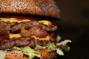 Flaming Burger Under the radar burgers DAL