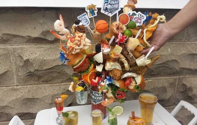 These massive Final Four team Bloody Marys are more ridiculous than Verne Lundquist