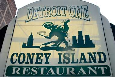 Detroit One Coney Island Best Coneys DET