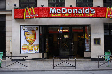 French McDonalds