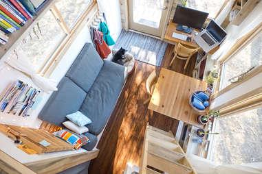 mobile home bird's-eye view