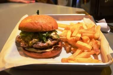 The Silo on 7th Best Under The Radar Burgers ATX