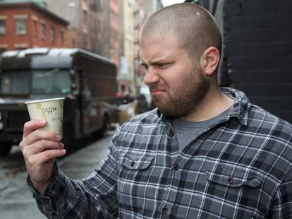 hates coffee
