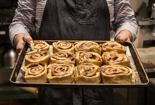 San Diego, this is the cinnamon roll breakfast sandwich of your dreams