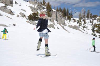 360 Squaw skier