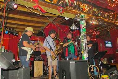 Banks Street Bar stage