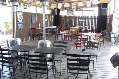 Bayou Beer Garden patio