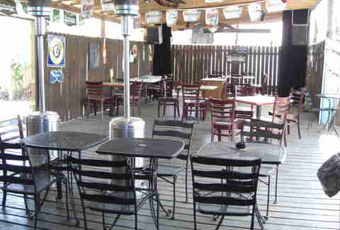 Bayou Beer Garden patio
