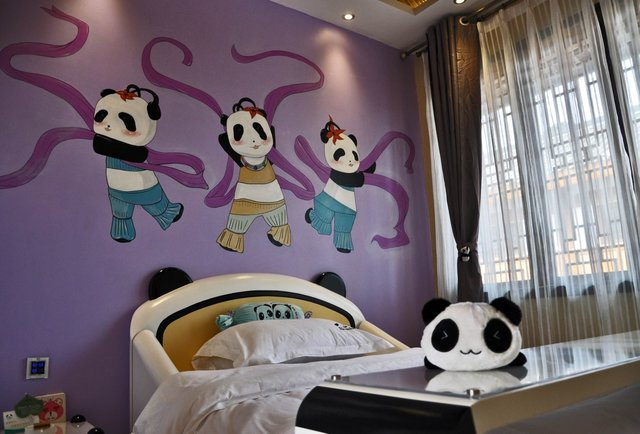 The weirdest panda-themed hotel you\'ll see all week