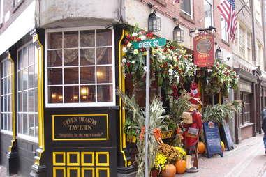 Green Dragon Tavern Oldest Bars BOS