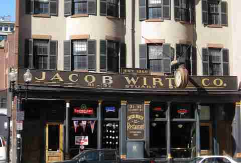 Jacob Wirth Oldest Bars BOS