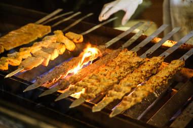kabob grilling