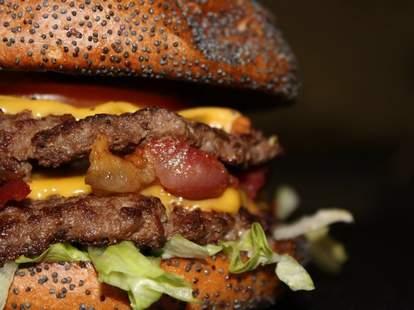 Flaming Burger DAL