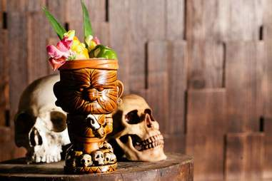 tiki cocktail