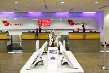 Virgin Airlines Gate