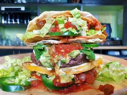 PYT Taco Bun Burger