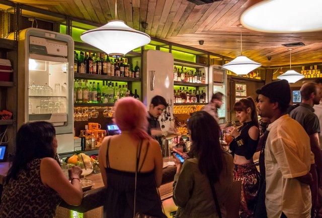 This new LA bar\'s secret entrance? Epic.