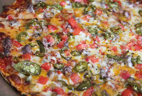 The Mexican Pizza at Tomato Pie