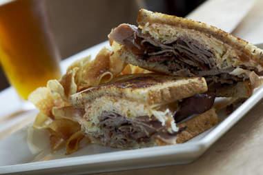 A sandwich at Food 101