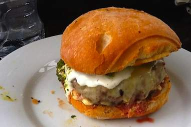 Tongue 'n Cheek burger
