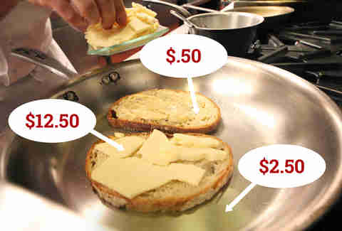 expensive grilled cheese chicago