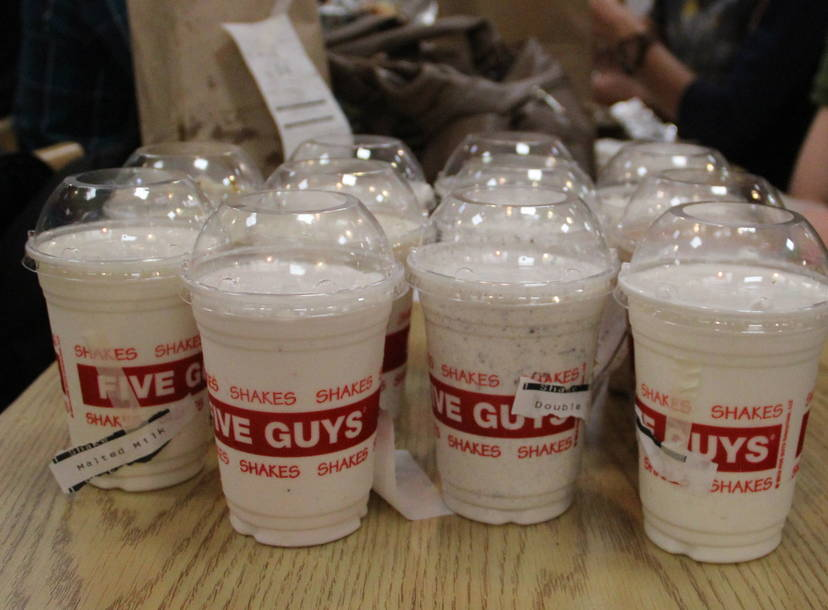 Five Guys Tests New Milkshake Menu Thrillist