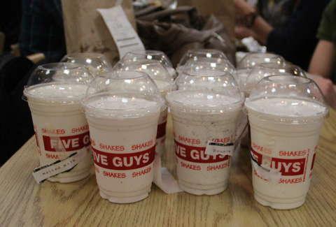 Five Guys Tests New Milkshake Menu Thrillist