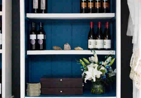 Lenoir-Austin-Wine shelf