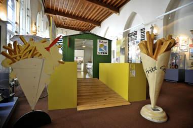 entrance frietmuseum