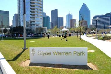 Klyde Warren Park Things you have to explain to out-of-towners about DAL