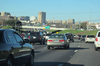 Traffic Things you have to explain to out-of-towners about ATX