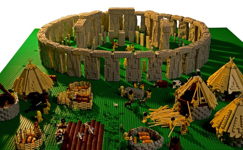 World S Most Famous Monuments In Lego Form By Warren