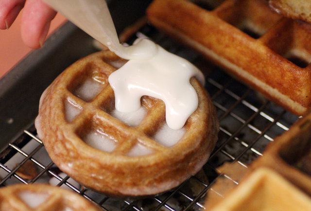 You can now get waffle-donuts (aka Wonuts) in Chicago