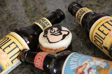 cupcake with beer