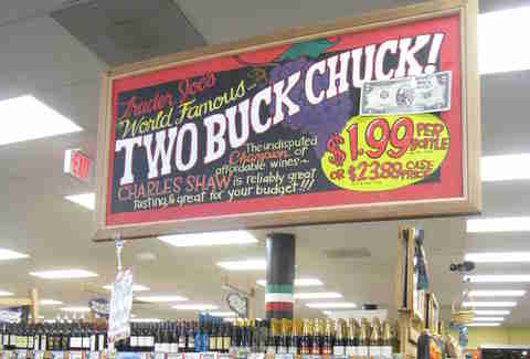 two buck chuck trader joe's