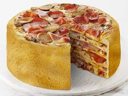 Boston Pizza pizza cake
