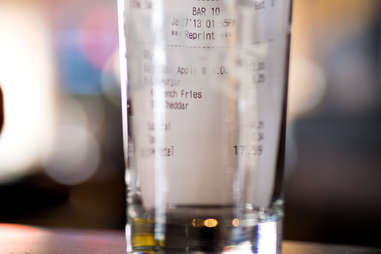 bar receipt