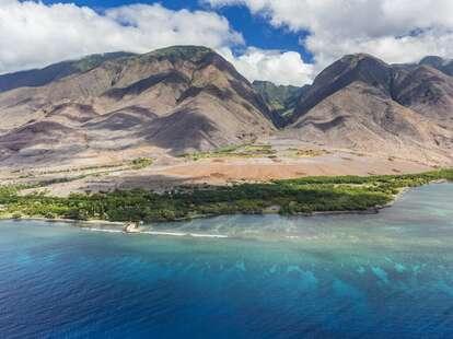 Hekili Point and West Maui Mountains