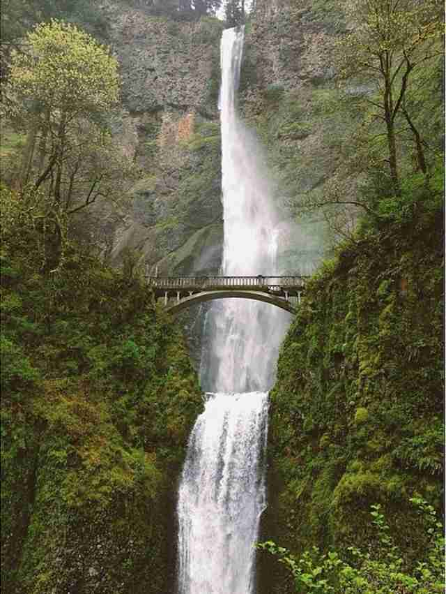 Multnomah Falls, Oregon, US