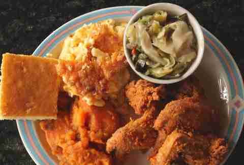 Best Soul Food In America Fried Chicken Pork Chops Collard