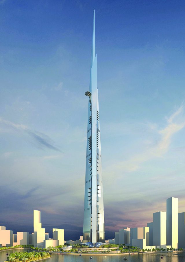 Kingdom Tower - 200 Stories Skyscraper to Become the World ...
