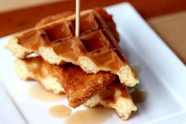 SliderBar chicken and waffle slider